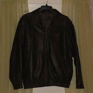 {St. John's Bay} leather jacket
